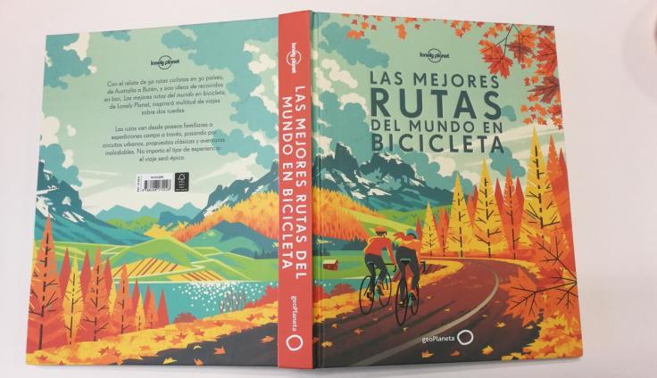 la mejores rutas en bicicleta libro