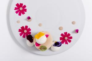 cheesecake de flores