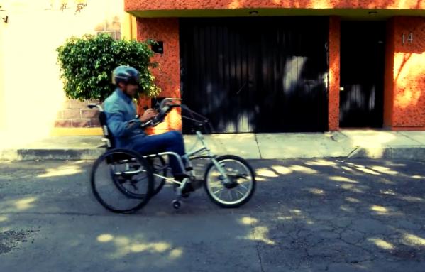 Bicicleta para personas con discapacidad